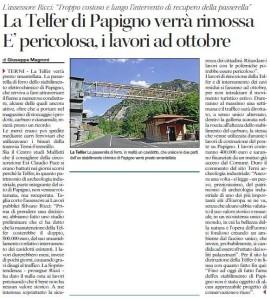 Passerella Telfer Ricci