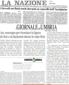 rassegna stampa locale 5 nov 2013