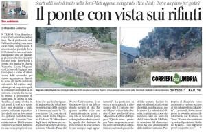 Corriere dell'umbria inerti a papigno 29 12 2013