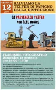 Telfer Flashmob fotografico