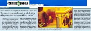 scalini rianimazione Corriere Umbria 4 Febbraio 2014