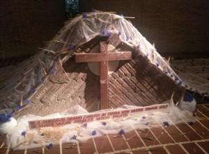 Madre Speranza Tomba con versetto vangelo