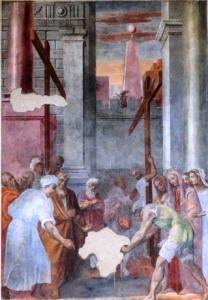 Radici Cristiane Siriane affresco regina elena a Terni