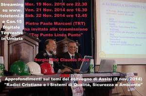 radici Cristiane e Sqsa Teleterni 19 Novembre