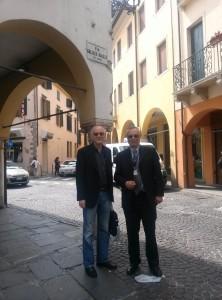 ICCF19 Ubaldo Mastromatteo  Claudio Pace a Padova
