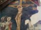 Scorpione nel sacro Il vessilo nella Cappella Manassei a Terni