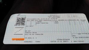Biglietto Breve
