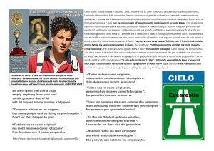 Testimonianza su Carlo Acutis
